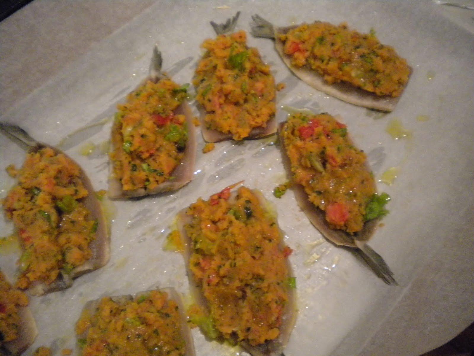Ricetta Acciughe Al Forno – Pesce