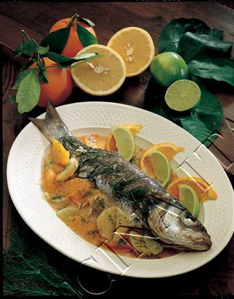 Ricetta Spigola Stufata Con Agrumi E Finocchietto – Pesce