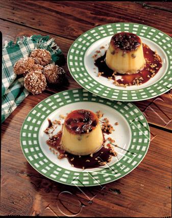Ricetta Crema Con Amaretti, Uvetta E Caramello – Dessert