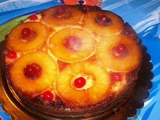 Ricetta Torta Di Ananas Rovesciata – Dessert