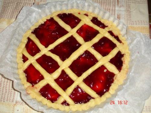 Ricetta Crostata Di Ciliegie (2) – Dessert