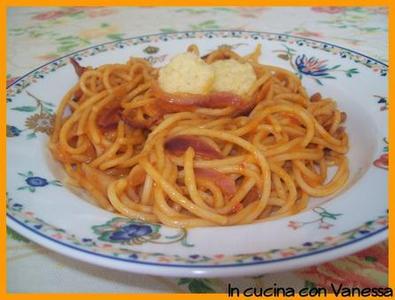 Ricetta Spaghetti E Salsa Funghi E Pecorino – Primo