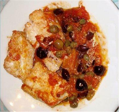 Ricetta Baccalà Con Olive E Capperi – Pesce