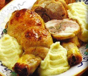Ricetta Coscette Di Pollo Con Purè Ricco – Pollame