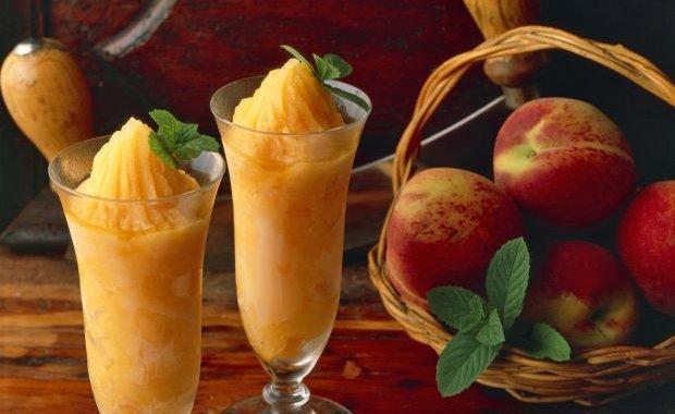 Ricetta Sorbetto Di Pesche – Dessert