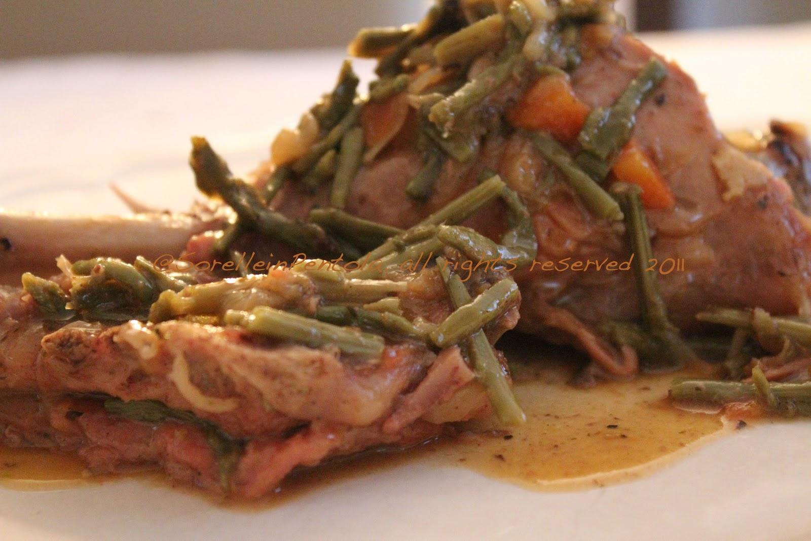 Ricetta Abbacchio Con Asparagi – Carne