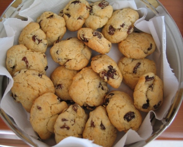 Ricetta Biscotti All'uvetta – Dessert
