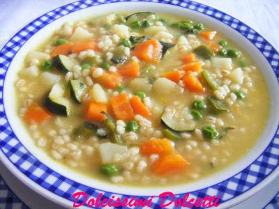 Ricetta Zuppa Di Verdure Con Patate – Primo