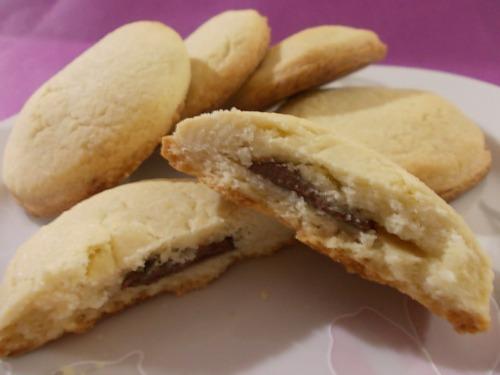 Ricetta Biscottini Di Pasta Frolla Farciti Di Nutella – Dessert