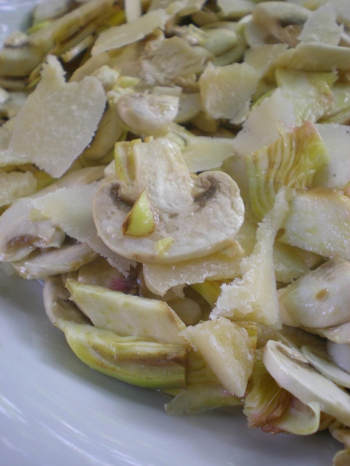 Ricetta Insalata Di Carciofi E Champignon – Contorno