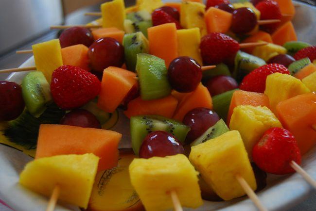 Ricetta Spiedini Di Frutta – Dessert