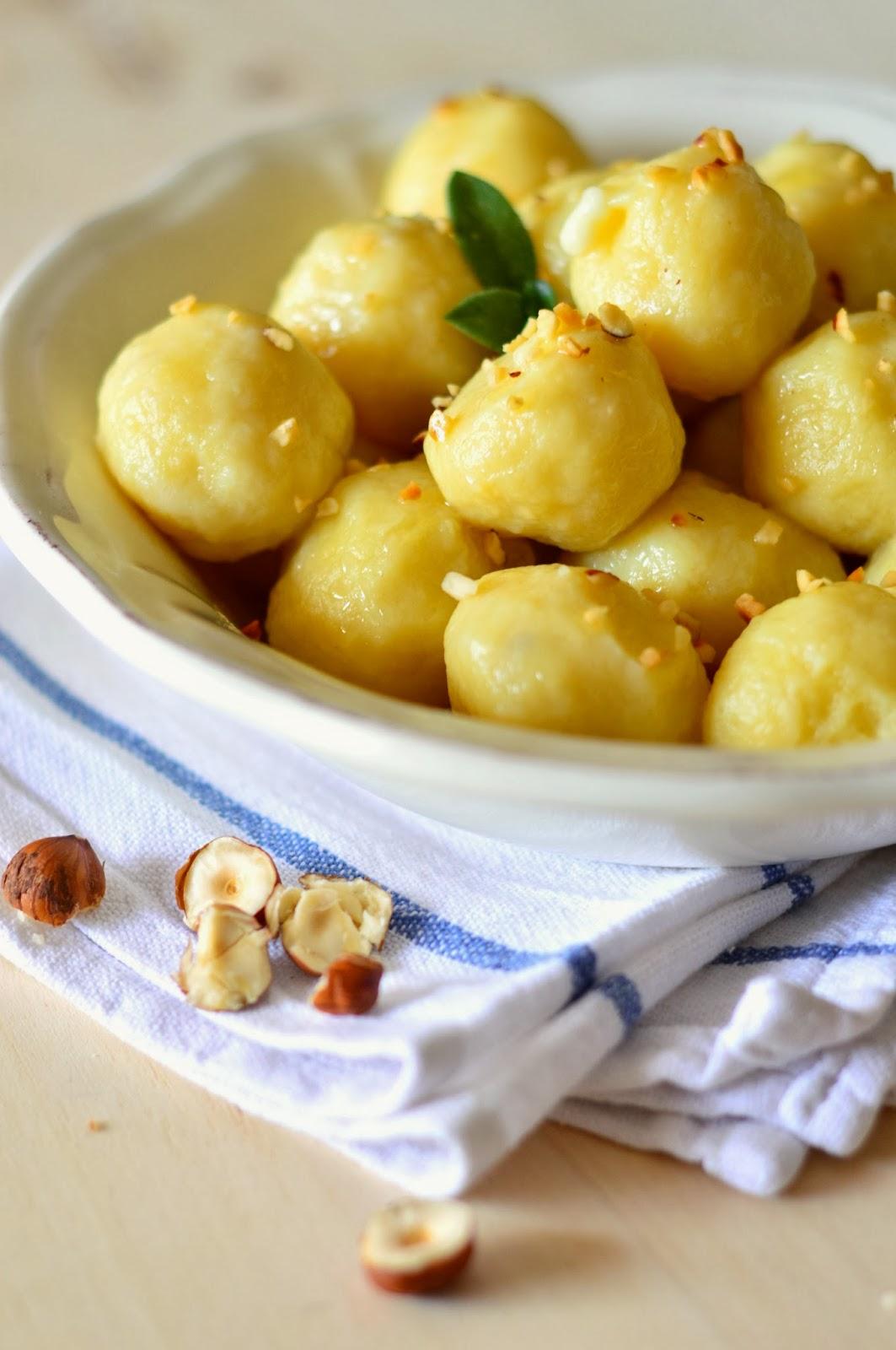 Ricetta Gnocchi Di Pane E Formaggio Con Burro E Salvia – Primo