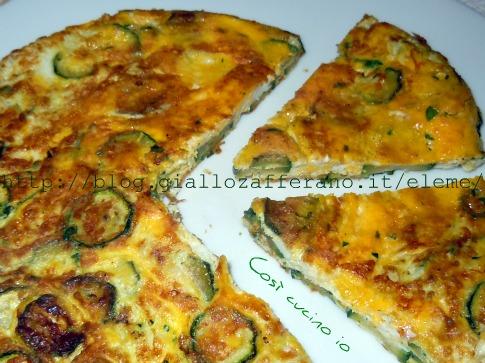 Ricetta Frittata Con Le Zucchine – Contorno