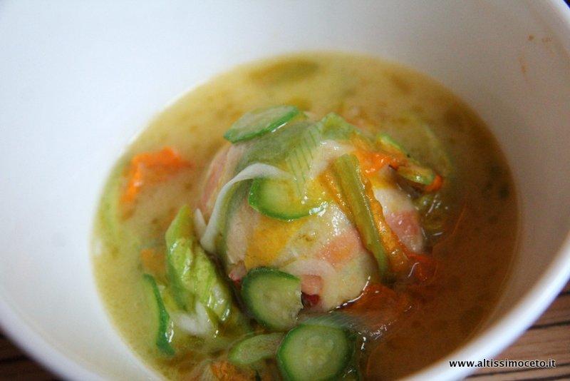 Ricetta Zuppa Di Patate E Crescione Con Astice – Pesce