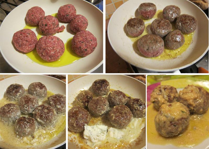 Ricetta Polpettine Al Gorgonzola – Carne