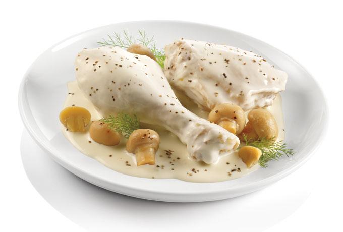 Ricetta Pollo Alla Crema (2) – Pollame