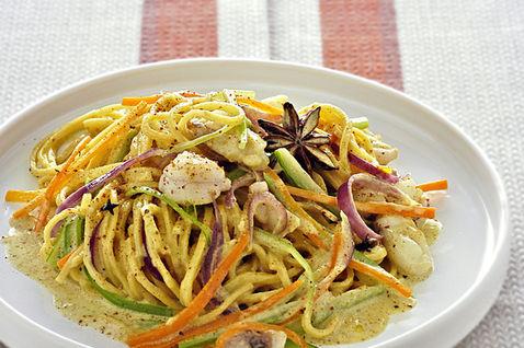 Ricetta Tagliolini Al Curry E Pescatrice – Primo