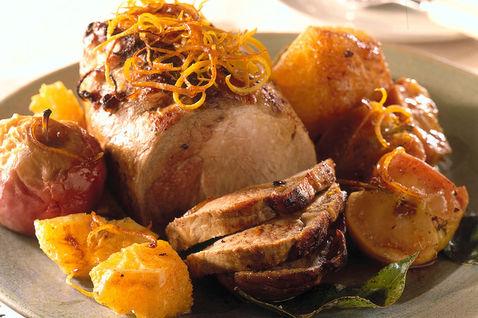 Ricetta Arrosto Di Maiale All'arancia (3) – Carne