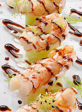 Ricetta Gamberoni Al Vapore (2) – Pesce