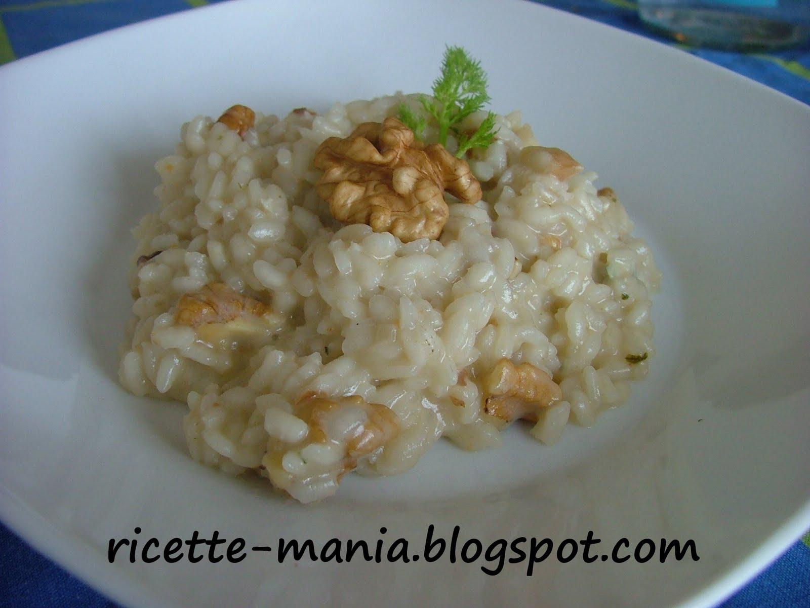 Ricetta Risotto Con Noci E Gorgonzola – Primo