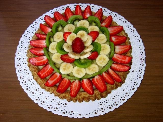 Ricetta Torta Di Frutta – Dessert