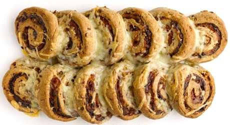 Ricetta Rotolo Di Pasta Biscotto Al Prosciutto – Antipasto