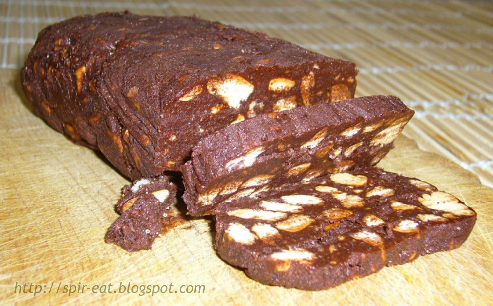 Ricetta Salame Di Cioccolato (3) – Dessert