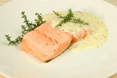 Ricetta Salmone Con Salse – Pesce