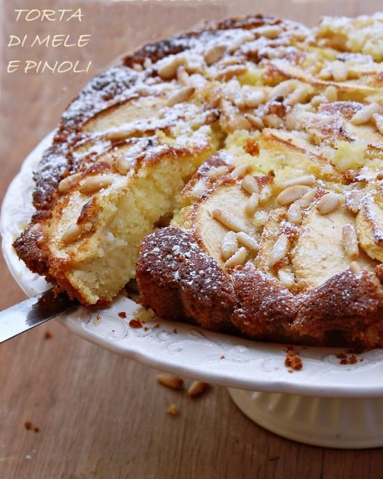 Ricetta Torta Soffice Ai Pinoli – Dessert