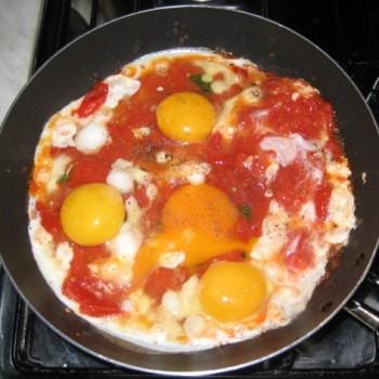 Ricetta Uova Con Pomodori – Contorno