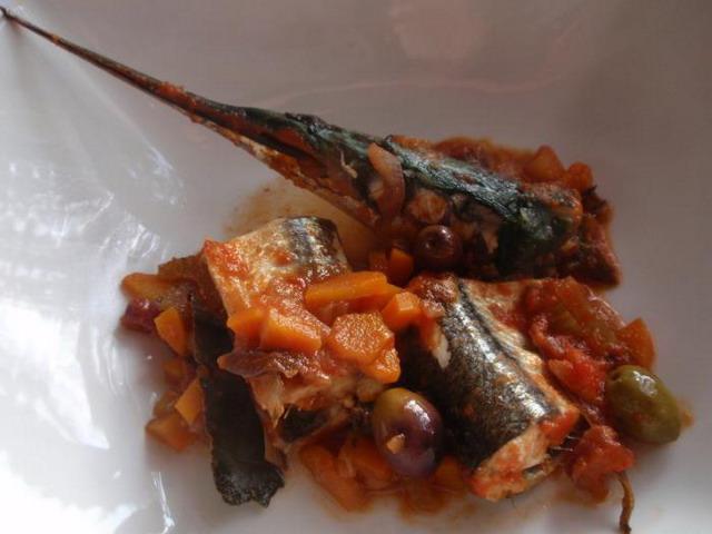 Ricetta Aguglia Alla Sicula – Pesce