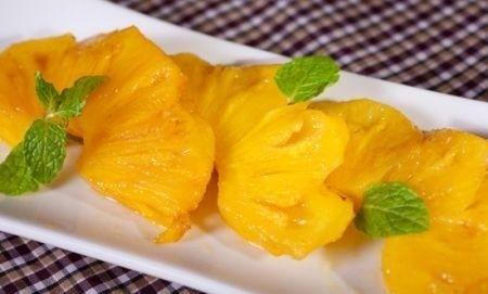 Ricetta Fette D'ananas Al Rum – Dessert