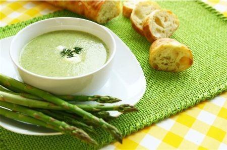 asparagi crema tiepida