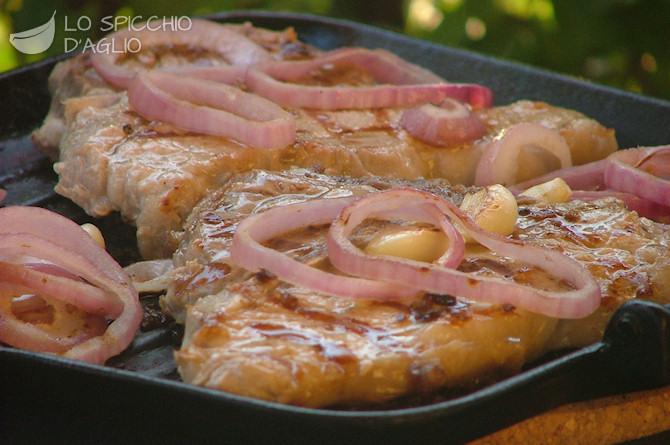 Ricetta Bracioline Di Vitello Con Carciofi – Carne