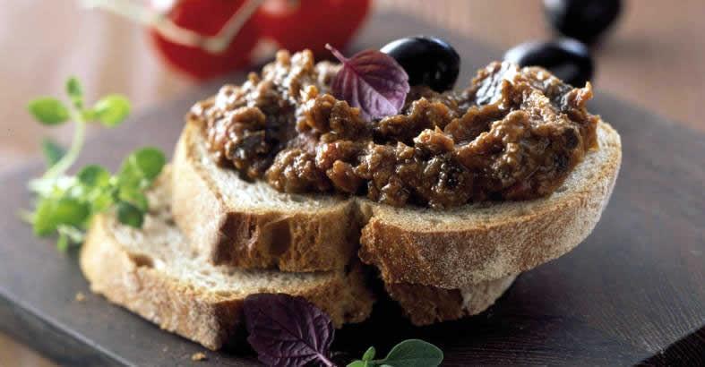 Ricetta Bruschetta Con Olive Nere – Antipasto
