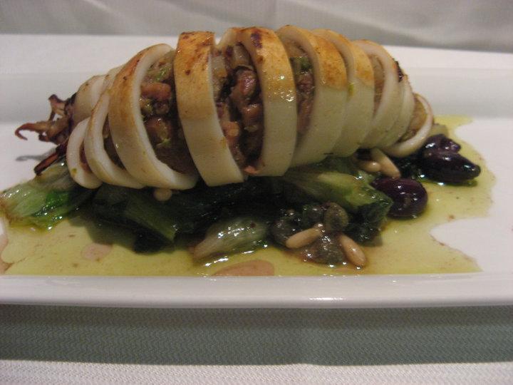 Ricetta Calamaro Ripieno – Antipasto