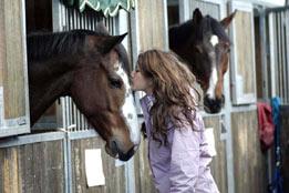 Stress giovanile diminuisce con l'equitazione