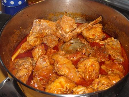Ricetta Coniglio In Umido – Carne