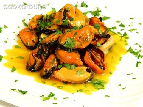Ricetta Cozze Allo Zafferano (2) – Pesce
