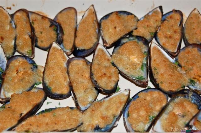 Ricetta Cozze Gratinate (2) – Pesce