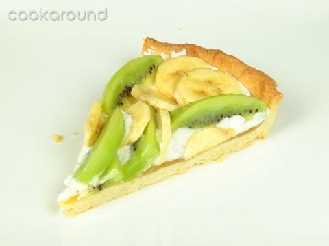 Ricetta Crostata Bianco-verde – Dessert