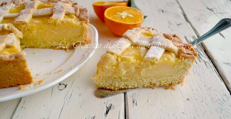 Ricetta Crostata All'arancia – Dessert