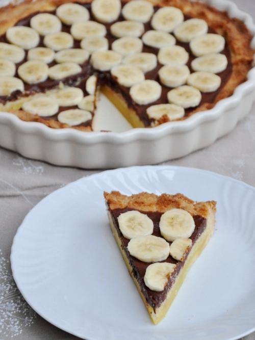 Ricetta Crostata Di Nutella E Banane – Dessert