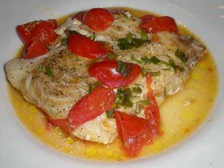Ricetta Filetti Di Pesce Al Pomodoro – Pesce