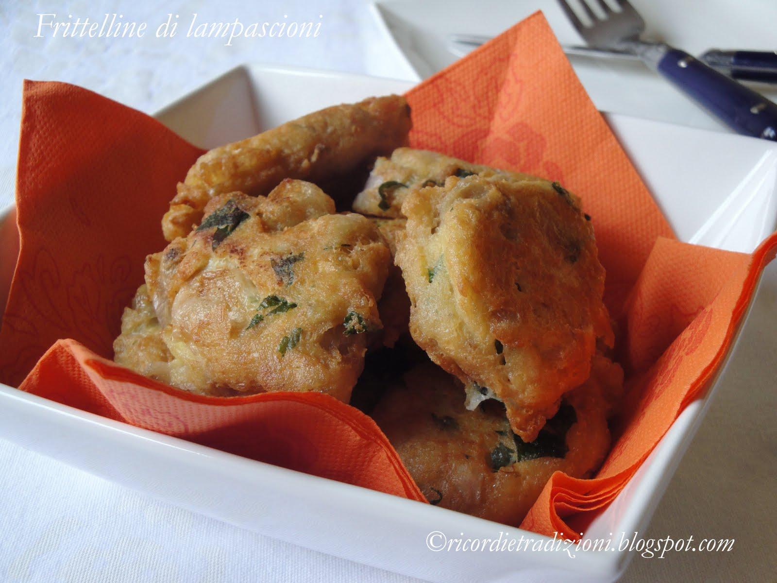 Ricetta Frittelle Di Muscari – Antipasto