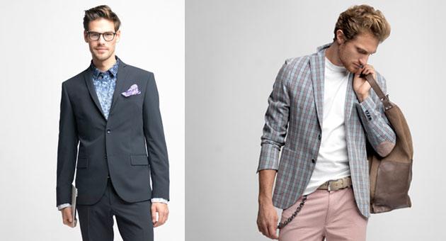 giacche da uomo tendenza estate 2014