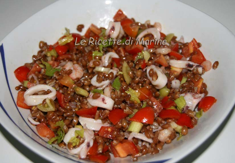 Ricetta Gamberetti In Insalata (2) – Pesce