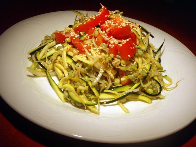 Ricetta Insalata Di Zucchine E Germogli – Contorno