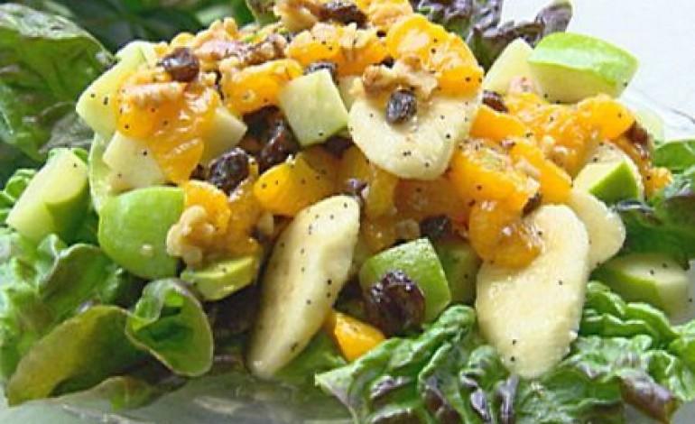 Ricetta insalata di patate e frutta contorno donne - Contorno di immagini di frutta ...