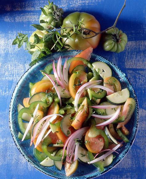 Ricetta cetrioli alla turca contorno donne magazine for Cucinare cetrioli
